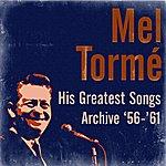 Mel Tormé His Greatest Songs Archive '56-'61
