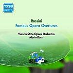 Mario Rossi Rossini, G.: Opera Overtures (Vienna State Opera Orchestra, Rossi) (1954)