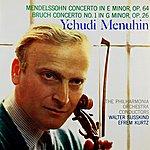 Yehudi Menuhin Mendelssohn: Concerto In E Minor