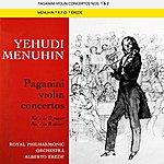Yehudi Menuhin Paganini Violin Concertos