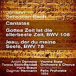 Anton Dermota Johann Sebastian Bach : Cantatas ; Gottes Zeit Ist Die Allerbeste Zeit, Bwv 106 / Jesu, Der Du Meine Seele, Bwv 78 (1954)