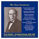 Czech Philharmonic Orchestra The Great Conductors: Erich Kleiber, Vol. 1
