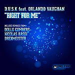 Dusk Right For Me (Feat. Orlando Vaughan)
