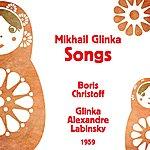 Boris Christoff Mikhail Glinka : Songs (1959)