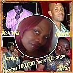 Nicety Nicetys 100,000 Poets 4 Change (Feat. Mell Will, Jarvon Michael Greer, Jerrett Gray & Xman)