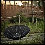 Fluttr Effect Black Umbrella
