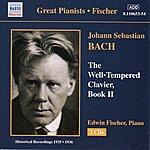 Edwin Fischer Bach, J.S.: Well-Tempered Clavier (The), Book 2 (Fischer) (1935-1936)