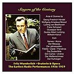 Fritz Wunderlich Singers Of The Century: Fritz Wunderlich, Vol. 2 / The Earliest Radio Performances 1956-1959