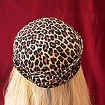 Mike Coston Leopard-Skin Pill-Box Hat