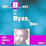 Don Byas B As In Byas, Don (Volume 4)