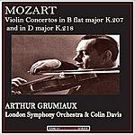Arthur Grumiaux Mozart: Violin Concertos In B Flat Major K. 207 And In D Major K. 218 (Remastered)