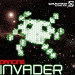 Edelstahl Dancing Invader