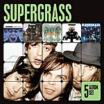 Supergrass 5 Album Set (I Should Coco/In It For The Money/Supergrass/Life On Other Planets/Diamond Hoo Ha)