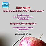 Paul Hindemith Hindemith: Theme And Variations, 'the 4 Temperaments' - Symphonic Metamorphosis After Themes By Carl Maria Von Weber