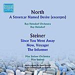 Max Steiner Film Music Of Alex North And Max Steiner (1950-1951)