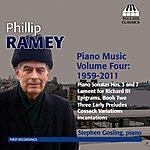 Stephen Gosling Ramey: Piano Music, Vol. 4 (1959-2011)