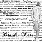 Brandon Ross Message Received