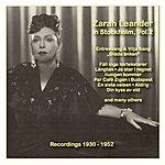 Zarah Leander Icons Of German Cinema: Zarah Leander In Stockholm, Vol. 2 (1930-1952)