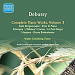Walter Gieseking Debussy: Complete Piano Works, Vol. 3