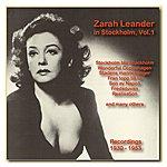 Zarah Leander Icons Of German Cinema: Zarah Leander In Stockholm, Vol. 1 (1930-1953)