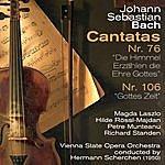 Hermann Scherchen Johann Sebastian Bach: Cantatas Nr. 76 [Die Himmel Erzählen Die Ehre Gottes] & Nr. 106 [Gottes Zeit] (1950)