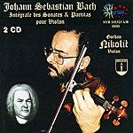 Gordan Nicolitch Bach: Sonates Et Partitas Pour Violon Seul
