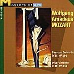 Collegium Instrumentale Brugense Mozart: Bassoon Concerto In B, Kv 191 & Divertimento In D, Kv 334