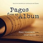 Zino Vinnikov Pages From An Album: Selected Showpieces For Violin And Piano