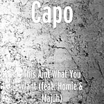 Capo This Aint What You Want (Feat. Homie & Majuh)