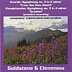 "Antonin Dvorák Dvorak, A.: Symphony No. 9, ""From The New World"" / Mendelssohn, Felix: Symphony No. 3, ""Scottish"" (Version For Piano Duet)"