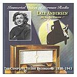 Lale Andersen Immortal Voices Of German Radio: Lale Andersen – Mit Dir, Lili Marleen - The Complete Studio Recordings (1938-1943)