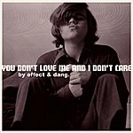 Effect You Don't Love Me And I Don't Care
