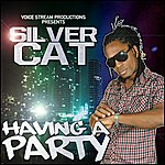 Silver Cat Having A Party - Single