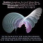New York Philharmonic Bruno Walter Conducts Mahler, Strauss, Hindemith Et Barber