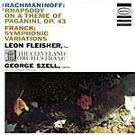 """Leon Fleisher Rachmaninoff: Rhapsody On A Theme Of Paganini, Op. 43; Franck: Symphonic Variations For Piano And Orchestra; Delius: Prelude To """"Irmelin"""""""