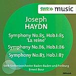 Ernest Bour Haydn: Symphonies Nos. 85, 86, 87