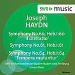 Ernest Bour Haydn: Symphonies Nos. 60, 61, 64