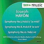 Ernest Bour Haydn: Symphonies Nos. 7, 8, 10