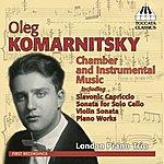 David Jones Komarnitsky: Chamber And Instrumental Music