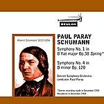 Detroit Symphony Orchestra Schumann: Symphony No. 1 - Symphony No. 4