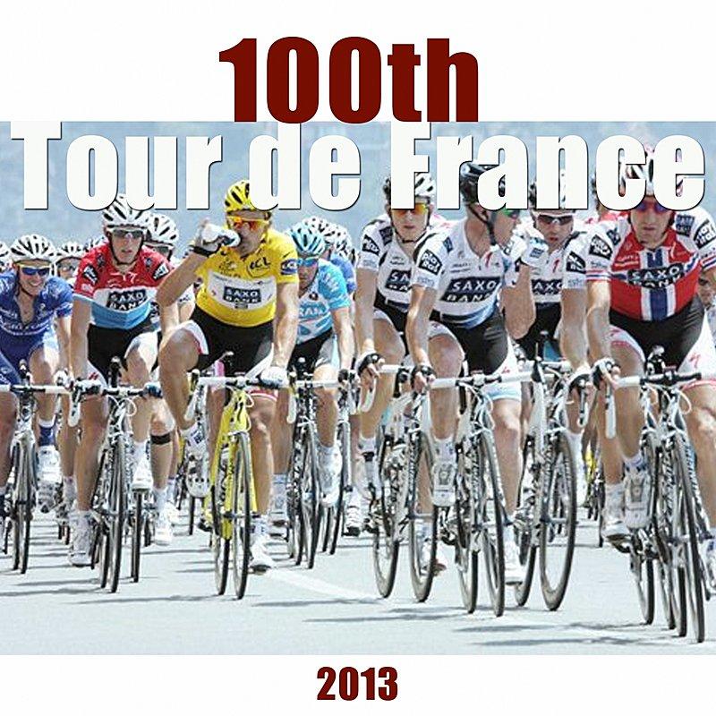 Cover Art: 100th Tour De France (2013)