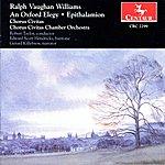 Robert Taylor Vaughan Williams: An Oxford Elegy - Epithalamion