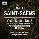 Camille Saint-Saëns Saint-Saëns: Music For Violin And Piano, Vol. 2