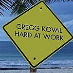 Gregg Koval Hard At Work