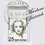 Marlene Dietrich The Blue Angel: 25 Best Songs By Marlene Dietrich