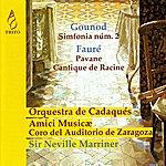 Neville Marriner Gounod: Sinfonia No. 2 & Fauré: Pavane, Cantique De Jean Racine