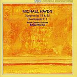 Bohdan Warchal Michael Haydn: Symphonies 18 And 25 - Divertimento, P. 8