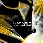 Half Light Black Velvet Dress