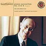 """Leonard Bernstein Beethoven: Piano Concerto No. 3 & No. 5 """"Emperor"""" [Expanded Edition]"""