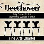 Fine Arts Quartet Beethoven: String Quartets No. 7-9 (Razumovsky Quartets), 10 And 14